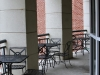Mississippi College outdoor seating